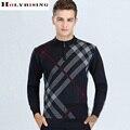 Hombre Suéter 2016 de Los Nuevos Hombres de Invierno Que Hace Punto Caliente de Alta Calidad de Los Hombres Suéter Ocasional Abrigo prendas de Vestir Exteriores Para Hombre de los Suéteres Y Jerseys