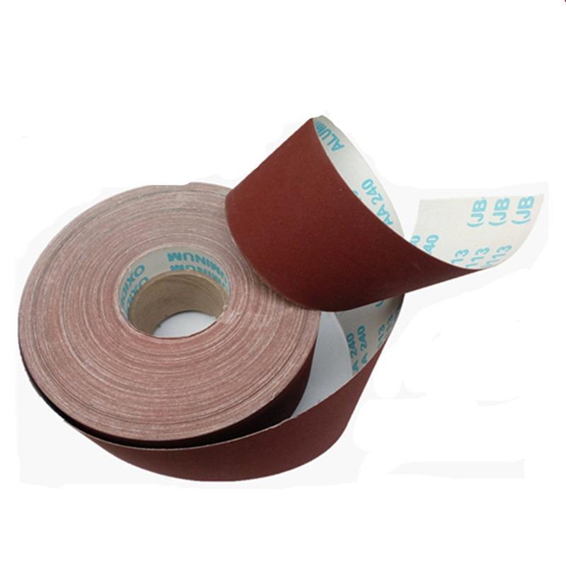 """K-T Industries 5-7420 Emery Cloth Shop Roll 1 /"""" X 10 Yard 80 Grit"""