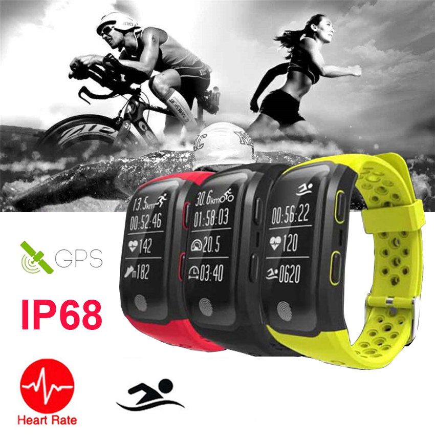 Fitness Heart Rate Monitor Men Sports polar Watches GPS Running Cycling Climb Outdoor Running Watches