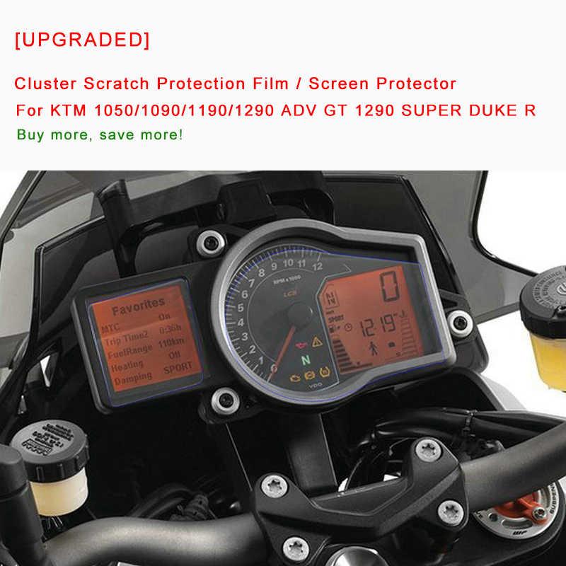 Cluster Scratch Protection Film for ktm1050 1190 1290adv GT SUPER DUKE R