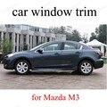 Оконные декоративные полосы из нержавеющей стали для автомобиля M-azda M3 без колонны для стайлинга автомобиля