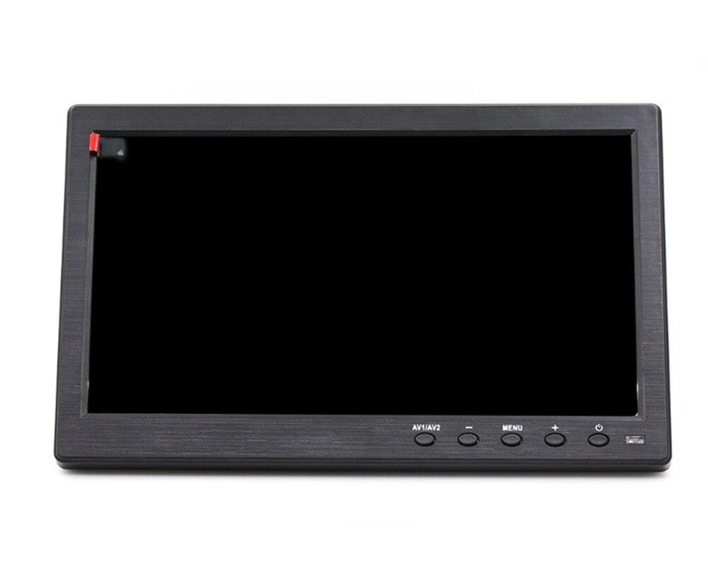 Image 2 - 10.1 HD 1024*600 LCD monitor Car monitor MP5 player Home  security monitor PC/TV Display Support VGA/BNC/USB/HDMI/AV inputCar  Monitors