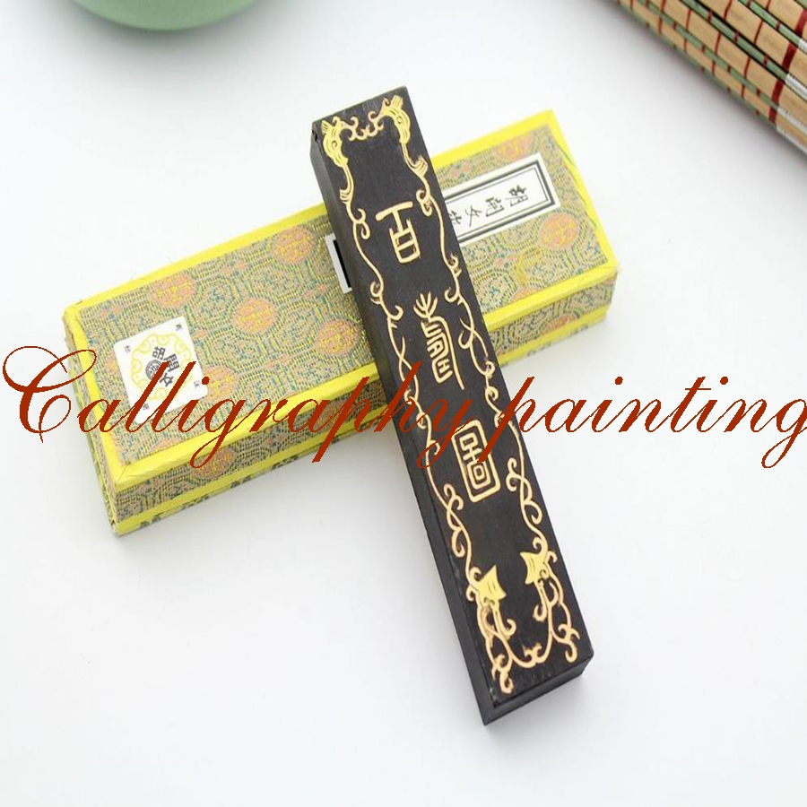 62g Ultrafine Top Paint Soot Inkstick Hukaiwen Calligraphy Painting Sumi-E 62g fine pure pine soot inkstick hukaiwen brush ink calligraphy painting sumi e