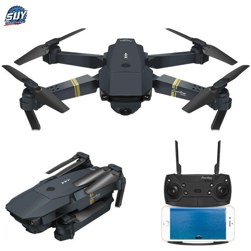 E58 WIFI drone fpv Avec Grand Angle HD Caméra Haute Tenue Mode Pliable Bras quadcopter rc VS JY09 hélicoptère rc