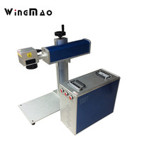 High accurate precision 20W optical Fiber Laser marking machine