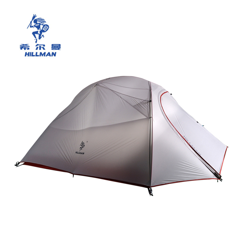 Hillman Tianping 3 Outdoor 3 4 person tent ultra light 20D coated silicon double person rainproof