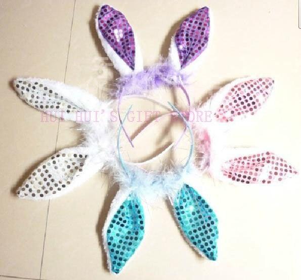 Пасхальное праздничное украшение кроличье Ухо повязка на голову