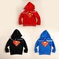 Meninos roupas crianças camisolas 2015 esporte primavera outono moletons crianças dos desenhos animados com capuz Hoodies para meninos