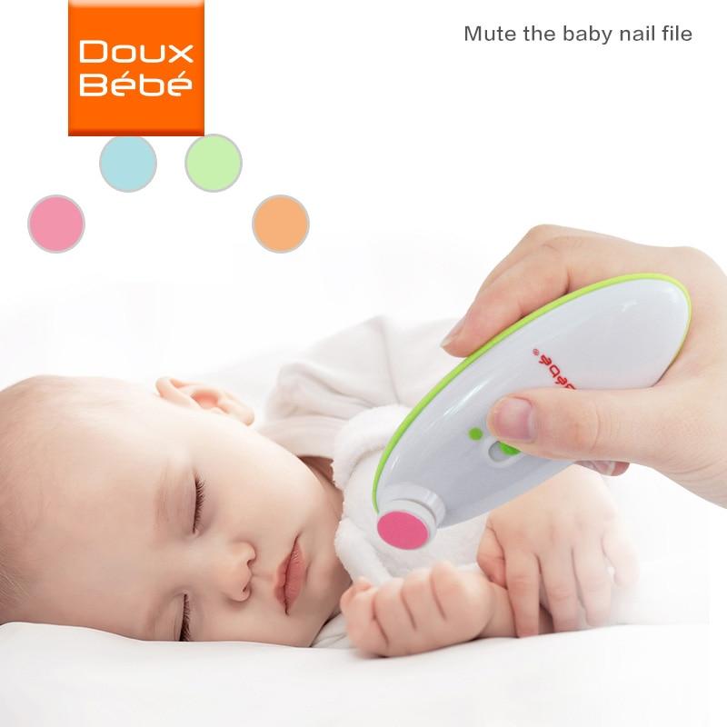 Baby Electric Trymer do paznokci dla noworodków Adult Nail File - Opieka nad dzieckiem - Zdjęcie 1