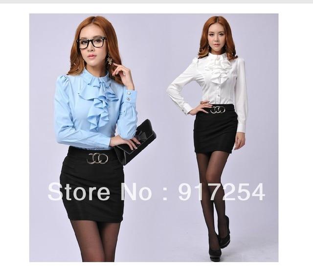 37d9556d4b8ab4 Free shipping 2013 New Autumn Winter fashion slim elegant uniform Long  Sleeve women career suits (
