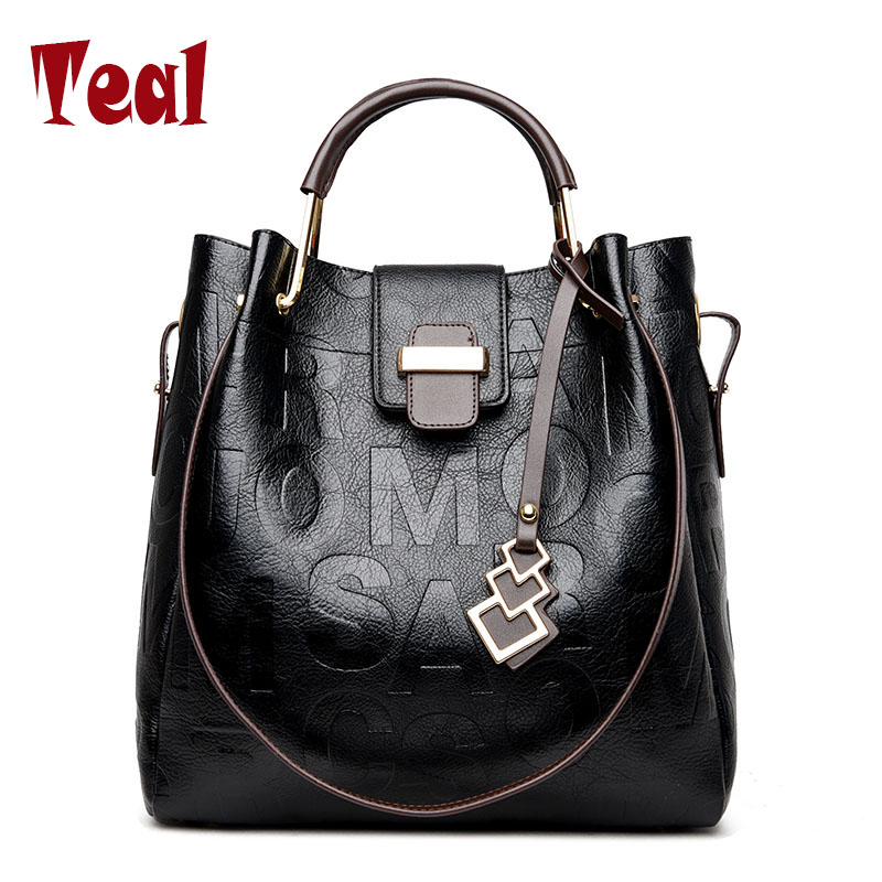 Women Shoulder bags Genuine Leather tote Bag female luxury fashion handbag High Quality Large capacity bolsa feminina 2017 new