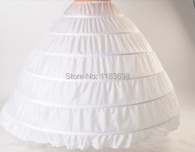 White ball gown petticoats for train wedding dress size for Petticoat under wedding dress