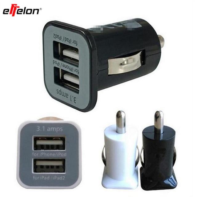 10pcs Lot Universal 5v 3 1a Usams Dual Port Usb Car Charger 3100mah For Iphone 4 4g 4s Ipad 1 2 Ipod