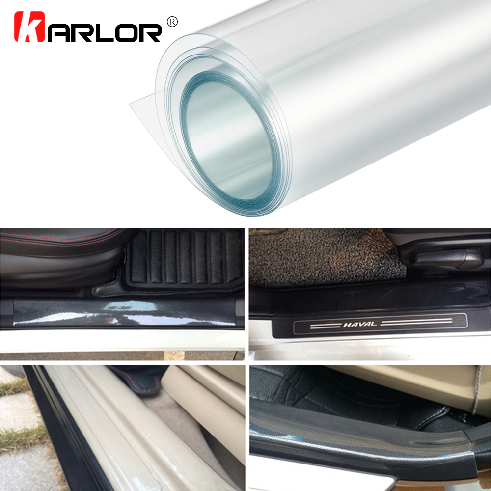500cm X 10/20/30/40/50cm Rhino Skin Sticker Protection Anti-dirty Film Vinyl Clear Transparence For Auto Car Bumper Hood Paint