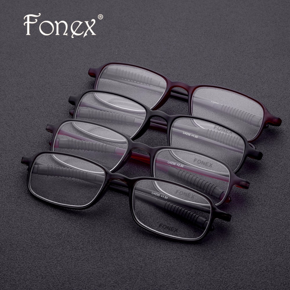 495c4cf7a5d TR90 Reading Glasses Frame Old Men Eyeglasses Women New Hyperopia  Ultralight Gift for father +1.50 +2.00 +2.50 +3.00 lh235-in Reading Glasses  from Apparel ...