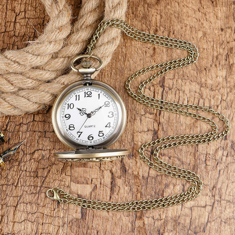 VINTAGE Hot เกมบัลลังก์ Fire and Blood Targaryen แฟชั่น Steampunk Cool นาฬิกาสร้อยคอนาฬิกา CHAIN ของขวัญสามมังกร