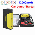 Auto EPS 12000mAh For Emergency Car Jump Starter 12V Gasoline&Diesel Version Car Battery Mobile Phone Power Bank Satety Hammer