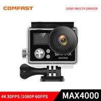 Comfast MAX4000 Ultra HD 4K WIFI Action Camera Diving 30M Waterproof Sports DV Helmet Video Kamera