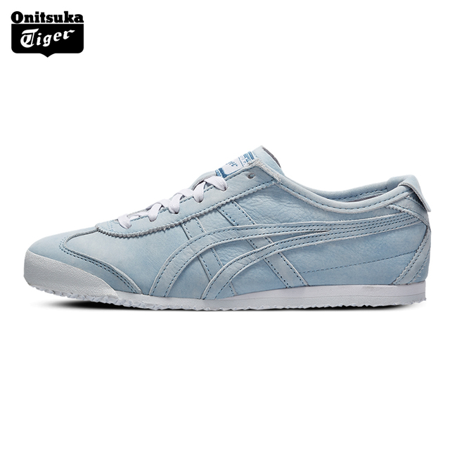 cheap for discount 8064d 627c3 US $127.93 34% OFF|Onitsuka Tiger Classic Loafers for Women Outdoor Light  Comfortable Low Cut Casual Sneakers Badminton Shoes MEXICO 66 D878L-in ...