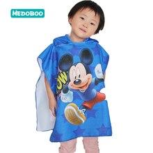 Mdoboo Baby Receiving Blanket Children Beach Bath Towel Kids Cartoon Hooded Cloak Boys Girls Swimming Blankets Beachwear 20