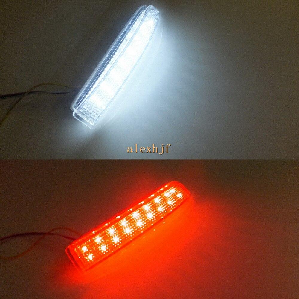 July King 15 White LEDs+ 18 Red LEDs /pc Brake Light Case for Toyota RAV4 Previa Alphard / Vellfire Estima Gaia Ipsum Nadia etc