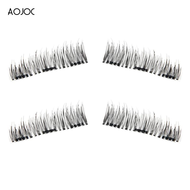 Best Seller 2pair Magnetic Eyelashes Extension Natural False