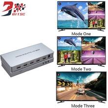 SZBITC Alta Qualidade HDMI Splitter Switcher 4×1 Porta Do Switch 4 4 k TV Distribuidor Tela Com Controle Remoto IR controle