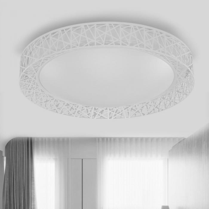 HTB12pn.eBWD3KVjSZFsq6AqkpXam Cool Ceiling Lights | Circular Ceiling Light | Newest LED chandelier Bird Nest Round raven Lamp Modern Fixtures For Living Room Bedroom Kitchen Modern Light-KK Diameter 27cm