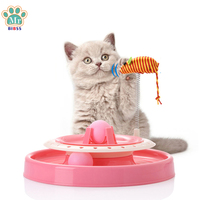 Funny Cat Toys Mice Catching Puzzle Game Pet Playing Tunnel Toys For Kitten Animals Dropshipping