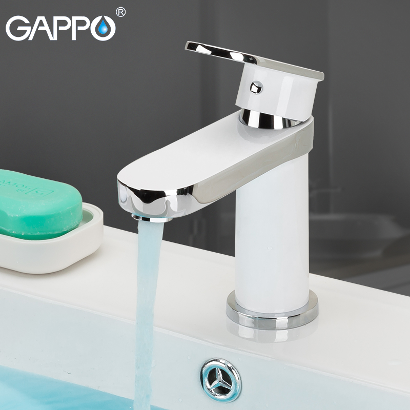 цена на GAPPO Basin Faucets bathroom waterfall faucet Deck Mount basin mixer brass faucet taps bathroom basin torneira bath mixer tap