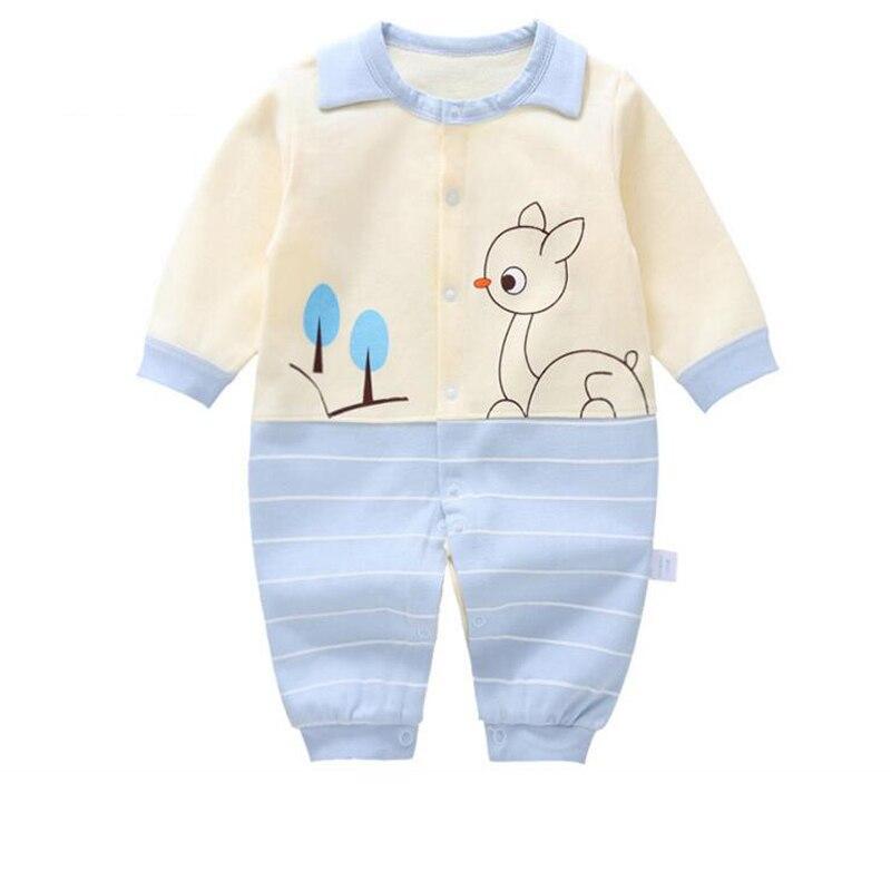 2019 nouveau bébé barboteuses enfants vêtements coton filles une pièce nouveau-né 0-12 mois