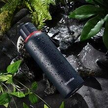 Simita Portable Stainless Steel Water Bottle Sports Flasks Leak-proof Flask Bpa Free Jar Canteen