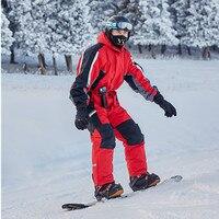 2018 зимний комбинезон лыжный костюм s для мужчин зимний лыжный Комбинезон утепленный лыжный костюм теплый комбинезон непромокаемый сноубор