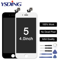 AAA Quality 4 LCD Screen For IPhone 5 5S Display Assembly Replacement With Original Digitizer Phone