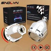 Upgrade 2 5 H1 7 1 Version HID Bi Xenon Projector Lens Headlight LHD RHD Retrofit