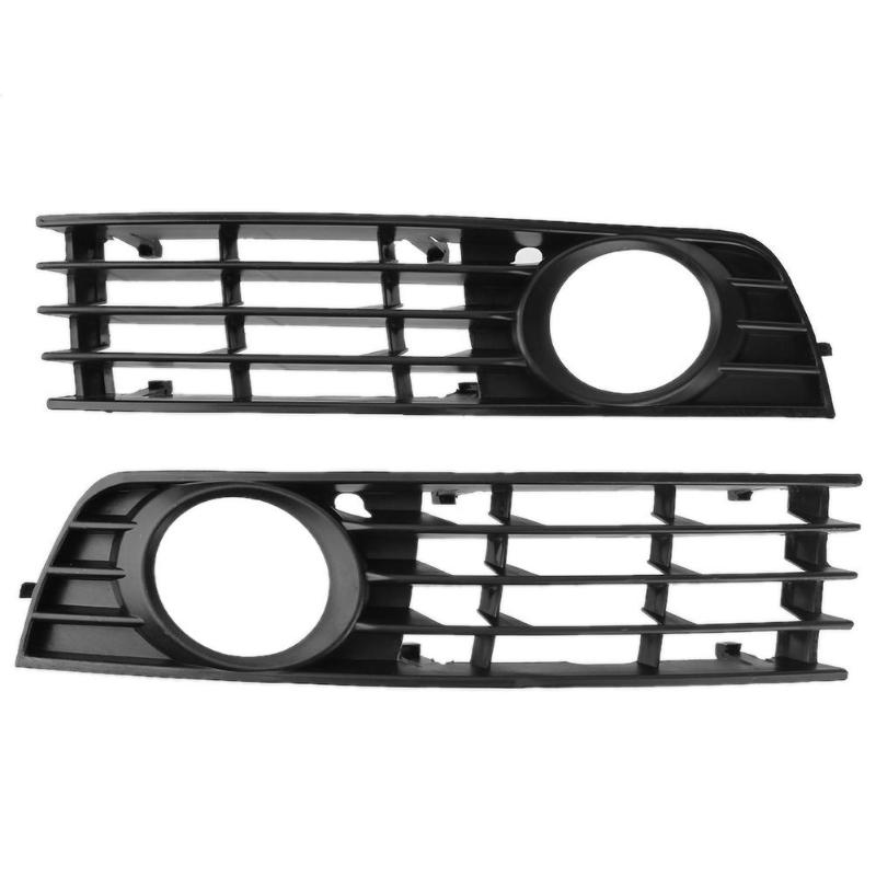 Front Bumper Lower Fog Light Grille Cover For Audi A4 B6 02-05 8E0807681