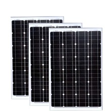 Waterproof TUV A Grade Solar Panel 12v 60w 3 PCs Zonnepanelen 180 Watt 36 Volt Battery Charger Car Caravan Camp Motorhome