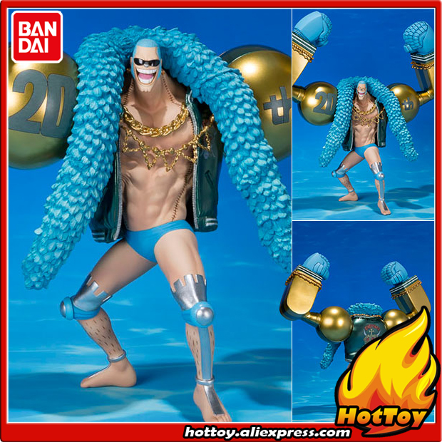 Original BANDAI Tamashii Nations Figuarts ZERO Collection Figure - Franky -ONE PIECE 20th Anniversary ver.- from ONE PIECE bandai one piece grand ship collection chanks plastic model