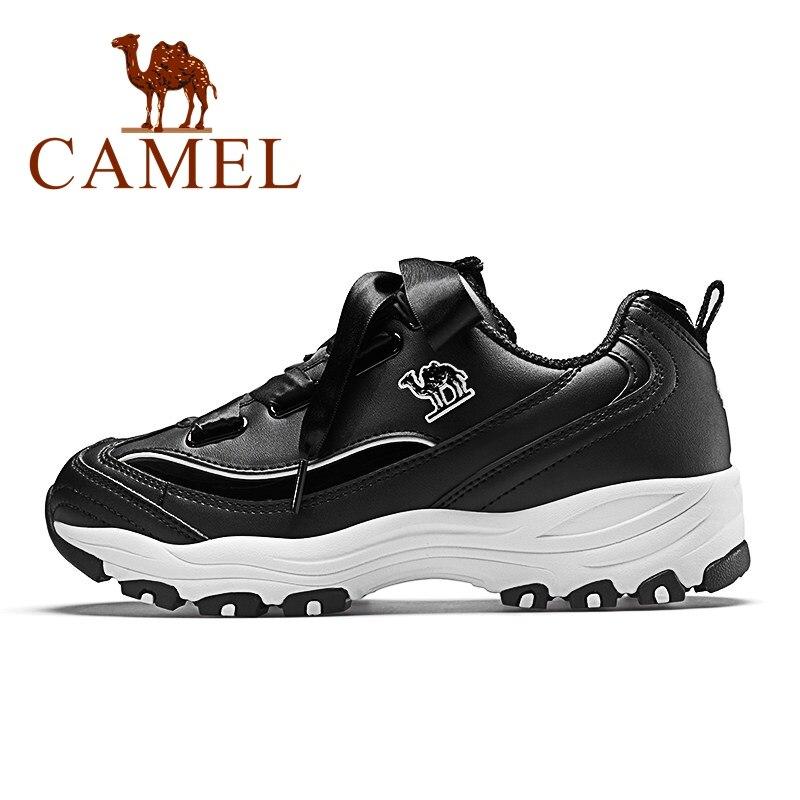 Верблюд новые женские туфли на высокой платформе кроссовки женщины Tenis повседневная мода Ulzzang старинные туфли для дам встряхнуть дно женский Сникеры
