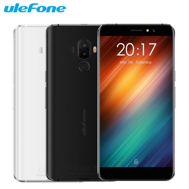 Original Ulefone S8 Cell Phone 5.3 inch HD Screen 1GB RAM 8GB ROM MTK6580 Quad Core Android 7.0 Dual Rear Cameras Smartphone
