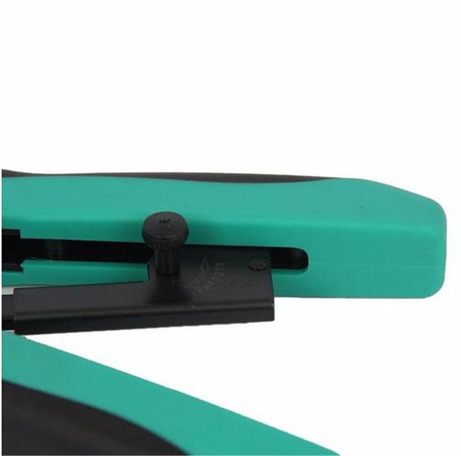 CP 200R Профессиональный пресс линия клещи обжимные Резы инструмент сети резаки модульное Обжатие полосы Резы ручные инструменты - 6