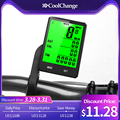 CoolChange Wireless Bike Computer Speedometer Odometer Rainproof Cycling Bicycle Computer Bike Measurable Temperature Stopwatch