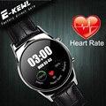 De lujo montre Smartwatch Con Monitor de Ritmo Cardíaco N98 Deporte Al Aire Libre A Prueba de agua conector Reloj Inteligente Para el iphone IOS Y Android