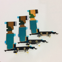 10Pcs Lot Free DHL Original New Charger Charging Port Headphone Dock Connector Flex Cable With MIC