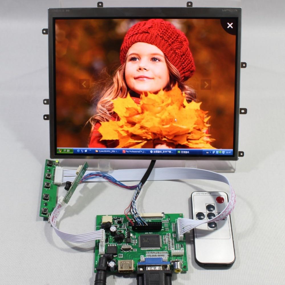 HDMI VGA 2AV LCD LCD Controller Board+9.7inch LTN097XL01 1024x768 IPS LCD Screen