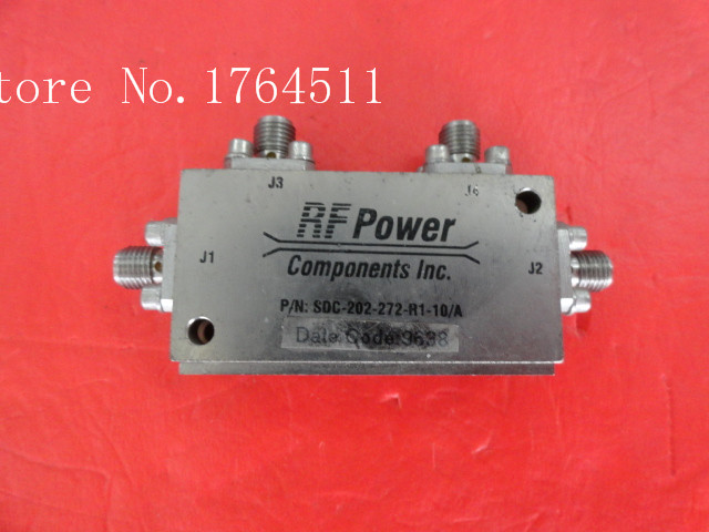 [BELLA] RF POWER SDC-202-272-R1-10/A 1.8-2.6GHz 10dB Supply Bridge SMA