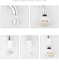 Yooap 3 Modes Kitchen Bathroom Faucet Aerators 360 Rotation Diffuser Filter Bubble Home & Sink Accessories