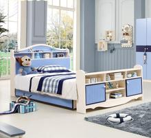 Children's Bed, Boys Single Bed, Teenage Prince Bed, 1.2/1.5 Meters, Children's Room, Furniture Bunk Bed(China)