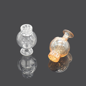 Image 3 - HORNET Premium Glass Carb Cap Round Ball Dome Evan Shore Quartz Banger Nails Dabber Dab Oil Rigs Thermal Banger Nails Dabber