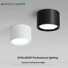 Светодиодный потолочный светильник 5 Вт 12 Вт 15 Вт с регулируемой яркостью, светодиодный светильник, 85-265 В переменного тока, современный светодиодный светильник для внутреннего фона, точечный светильник